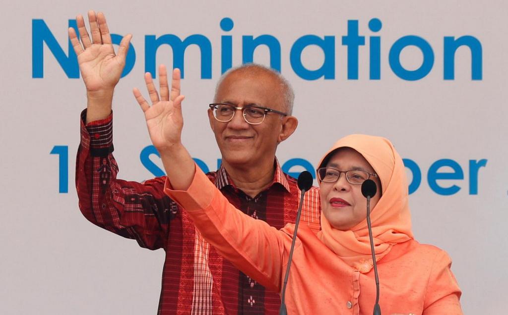 Tân tổng thống Singapore là con ông bảo vệ - Ảnh 1.