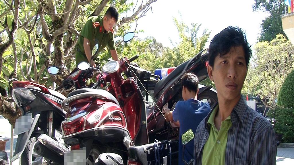 Từ TP.HCM ra Huế chỉ để trộm xe máy - Ảnh 1.