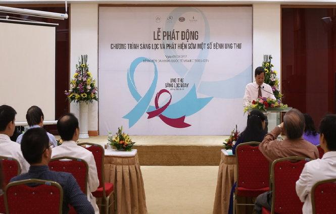 Vinmec miễn phí sàng lọc, hỗ trợ điều trị ung thư 15.000 người - Ảnh 1.