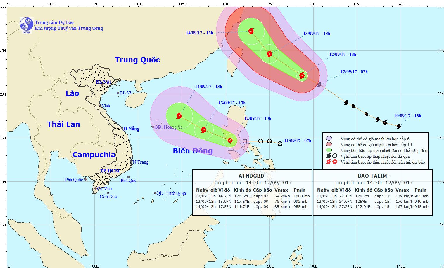 Áp thấp nhiệt đới có thể mạnh thành bão - Ảnh 1.