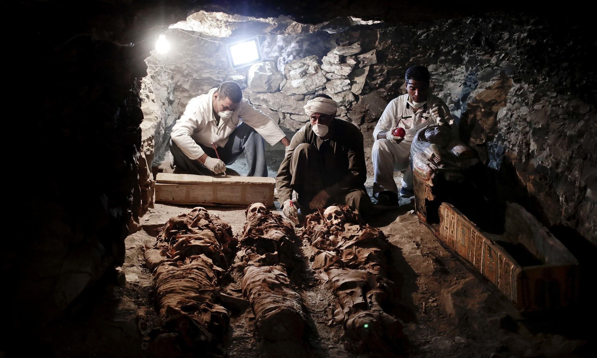 Phát hiện kho báu 3.500 năm ở Ai Cập - Ảnh 1.