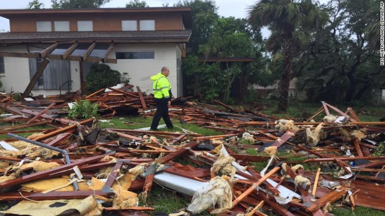Bão Irma trút cơn thịnh nộ xuống Florida - Ảnh 8.