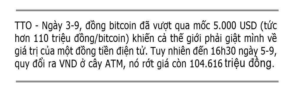 Cẩn thận với tiền điện tử - Ảnh 1.