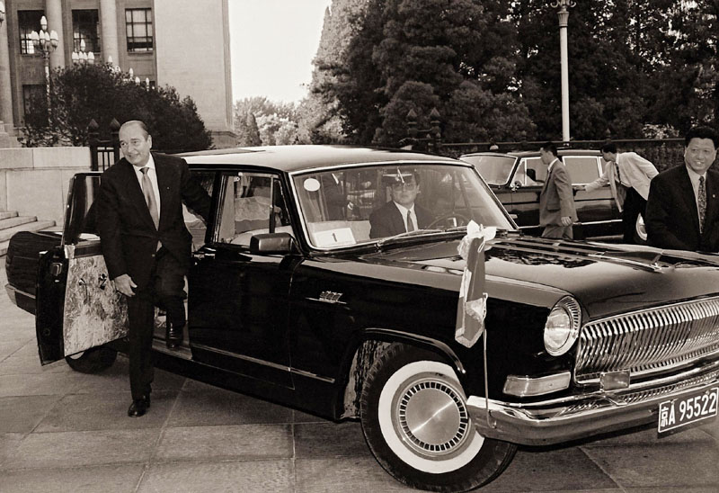 Khi Hồng Kỳ - xe hơi sang chở lãnh đạo Trung Quốc - lép vế trước BMW, Audi... - Ảnh 5.