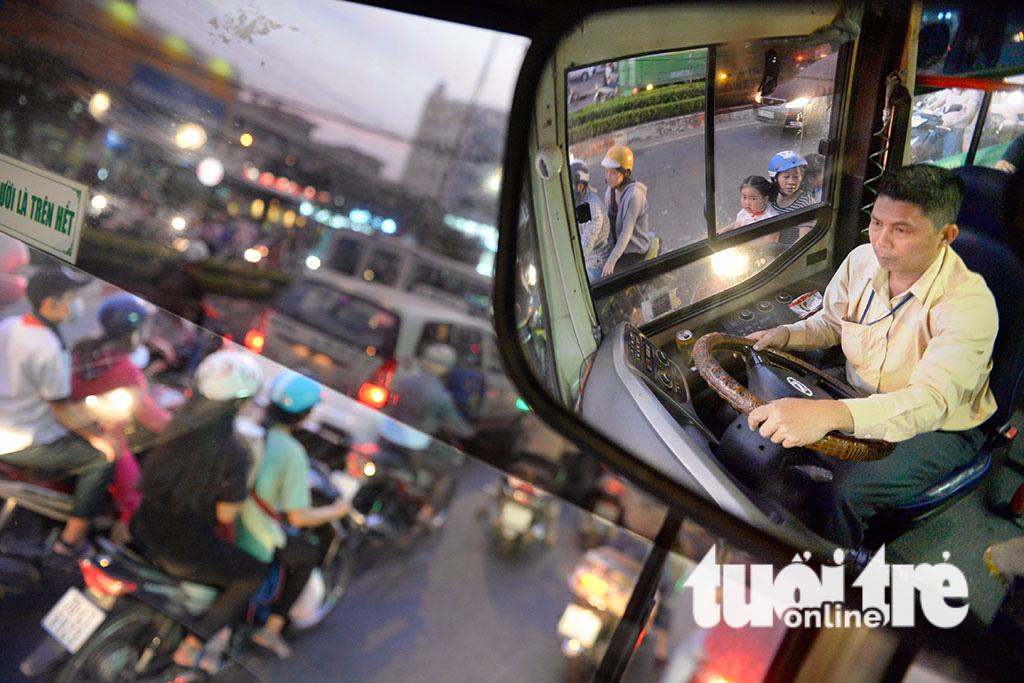 Giảm căng thẳng cho tài xế xe buýt - Ảnh 1.