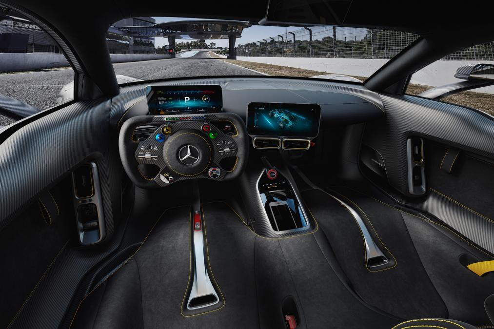 Mercedes ra mắt siêu xe hybrid: khi xe đua thành xe chạy trên phố - Ảnh 4.