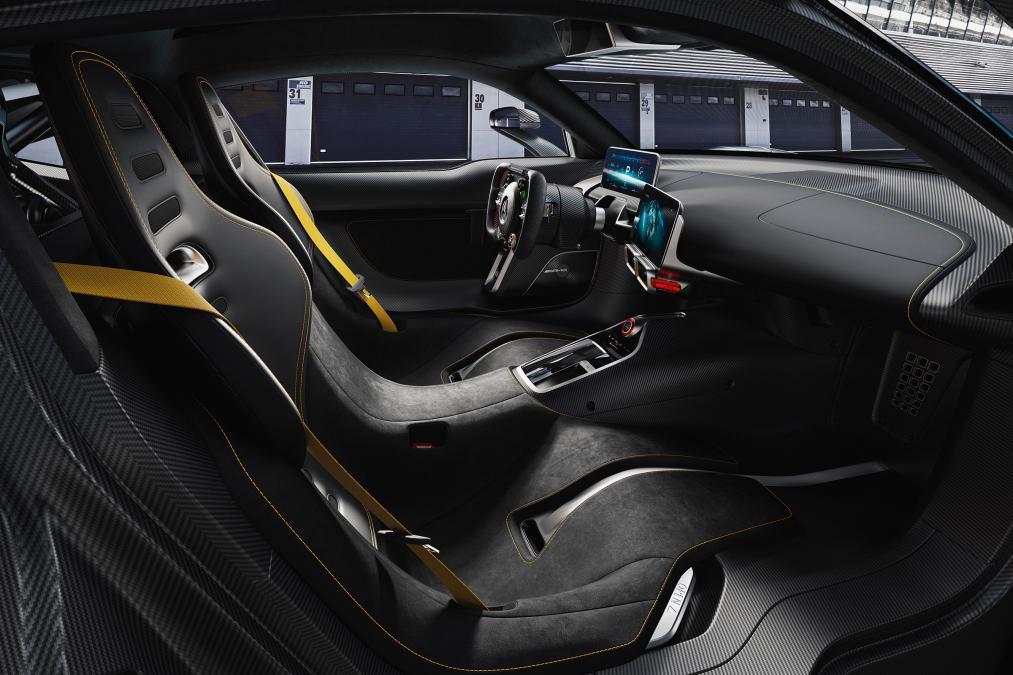 Mercedes ra mắt siêu xe hybrid: khi xe đua thành xe chạy trên phố - Ảnh 5.