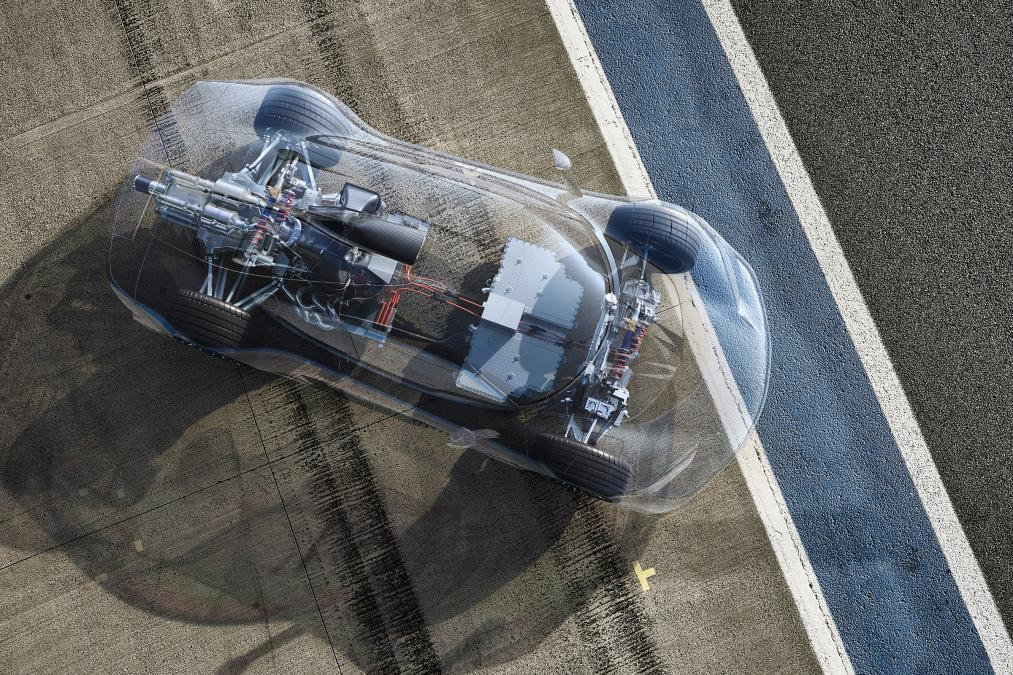 Mercedes ra mắt siêu xe hybrid: khi xe đua thành xe chạy trên phố - Ảnh 7.