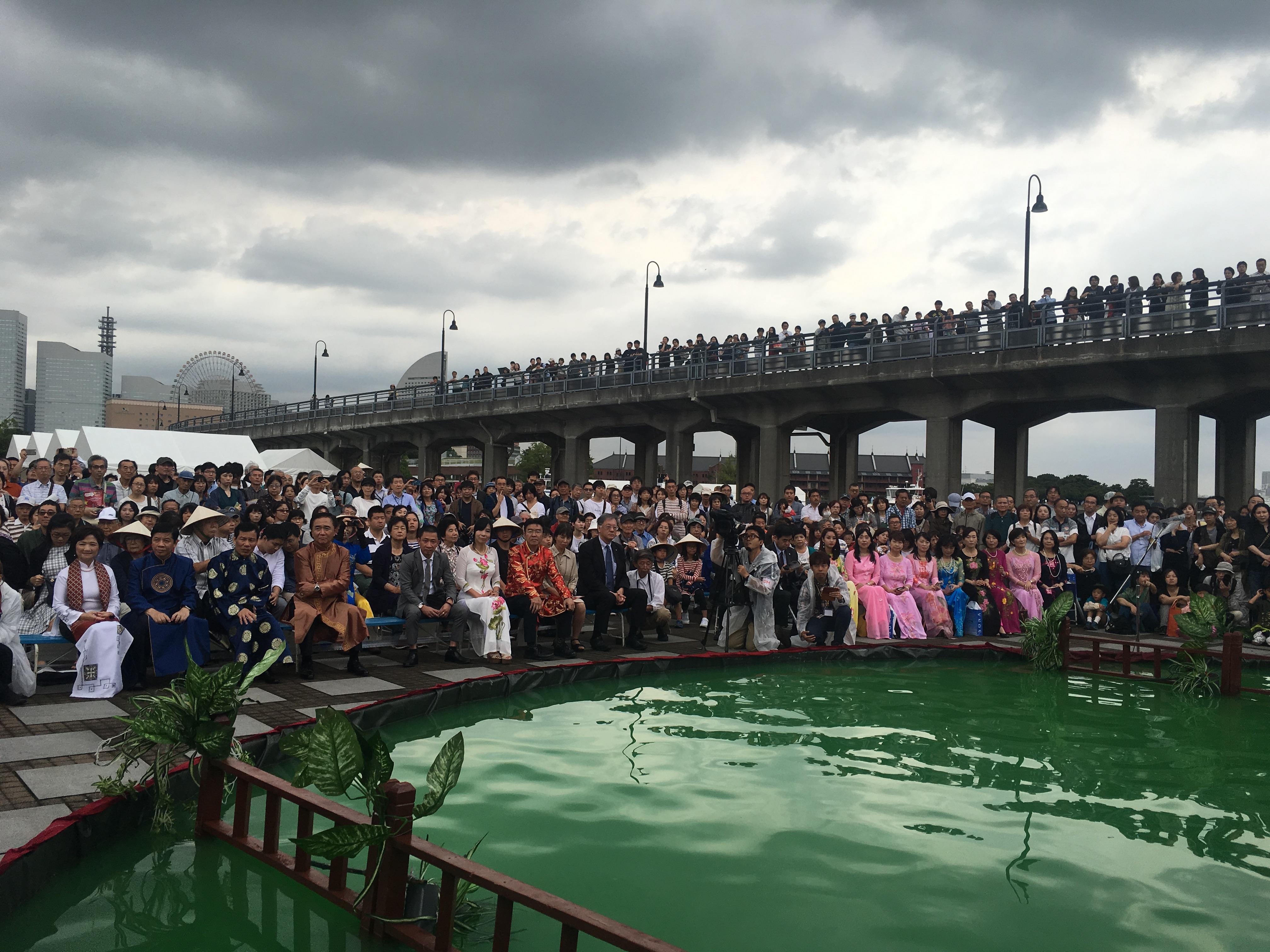 Tưng bừng lễ hội hàng Việt Nam tại Nhật - Ảnh 5.