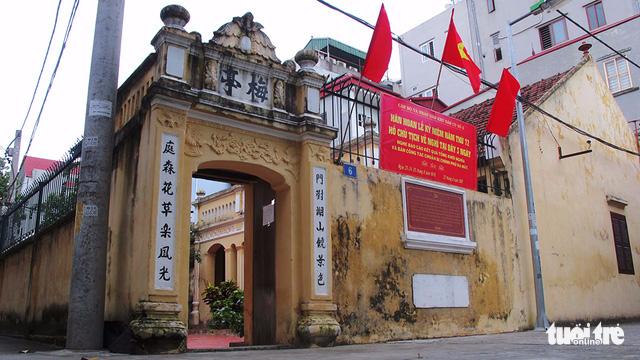 Ngôi nhà đầu tiên đón Bác về Hà Nội năm 1945 - Ảnh 1.