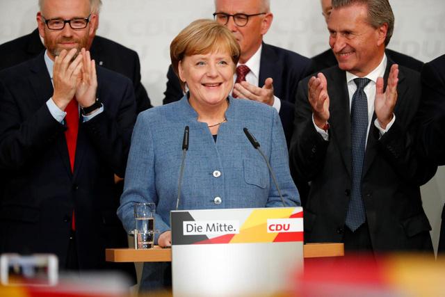 Thủ tướng Đức Merkel sẽ tái đắc cử nhiệm kỳ 4 - Ảnh 1.