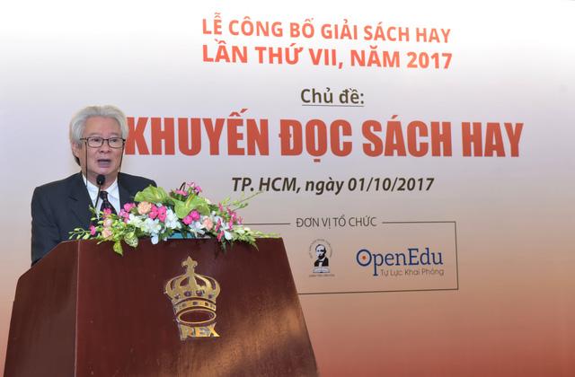 Sách phê bình từ điển Nguyễn Lân đoạt giải Sách Hay 2017 - Ảnh 1.