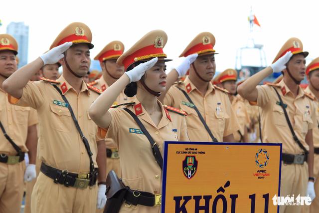 Gần 800 cảnh sát giao thông xuất quân bảo vệ APEC 2017 - Ảnh 3.