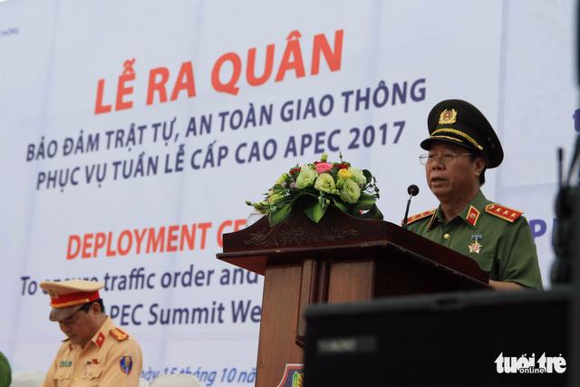 Gần 800 cảnh sát giao thông xuất quân bảo vệ APEC 2017 - Ảnh 4.
