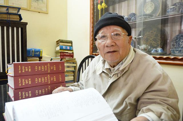 Kẻ sĩ Bình Định Lộc Xuyên Đặng Quí Địch về cõi vĩnh hằng - Ảnh 1.