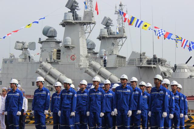 Thượng cờ 2 tàu tên lửa tấn công nhanh do Việt Nam đóng - Ảnh 2.