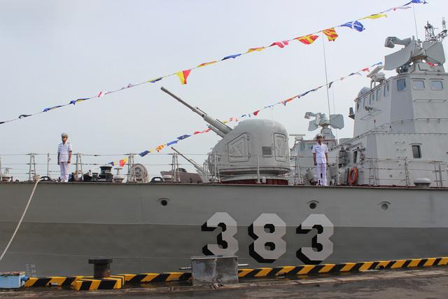 Thượng cờ 2 tàu tên lửa tấn công nhanh do Việt Nam đóng - Ảnh 12.