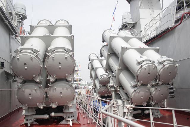 Thượng cờ 2 tàu tên lửa tấn công nhanh do Việt Nam đóng - Ảnh 14.