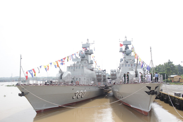 Thượng cờ 2 tàu tên lửa tấn công nhanh do Việt Nam đóng - Ảnh 15.