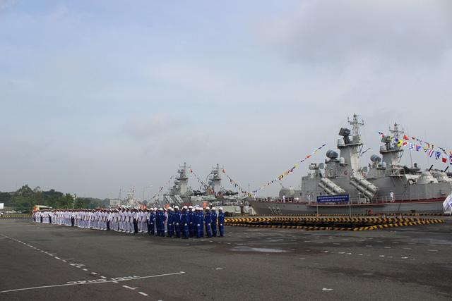 Thượng cờ 2 tàu tên lửa tấn công nhanh do Việt Nam đóng - Ảnh 4.