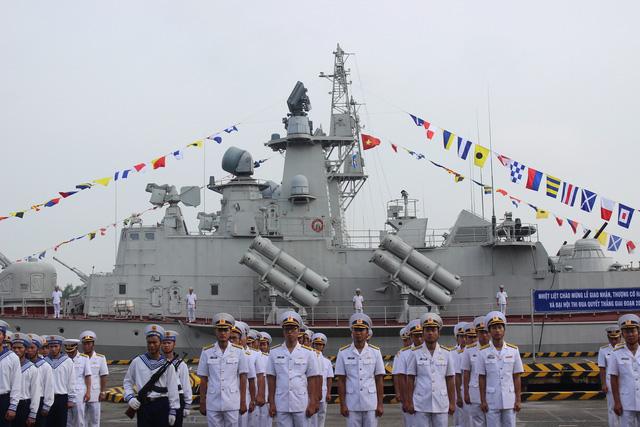 Thượng cờ 2 tàu tên lửa tấn công nhanh do Việt Nam đóng - Ảnh 5.
