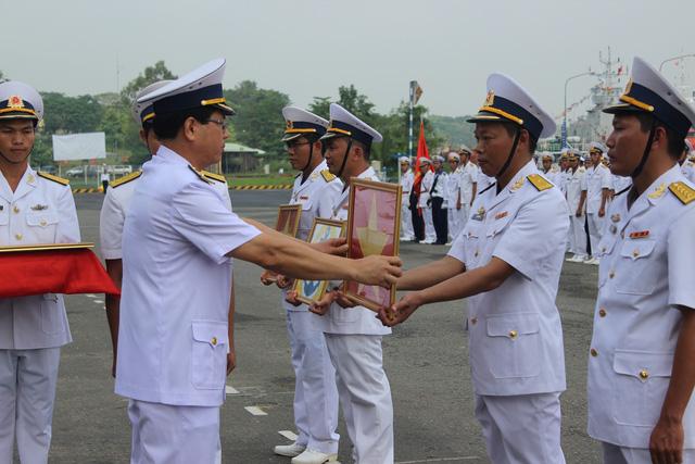 Thượng cờ 2 tàu tên lửa tấn công nhanh do Việt Nam đóng - Ảnh 7.