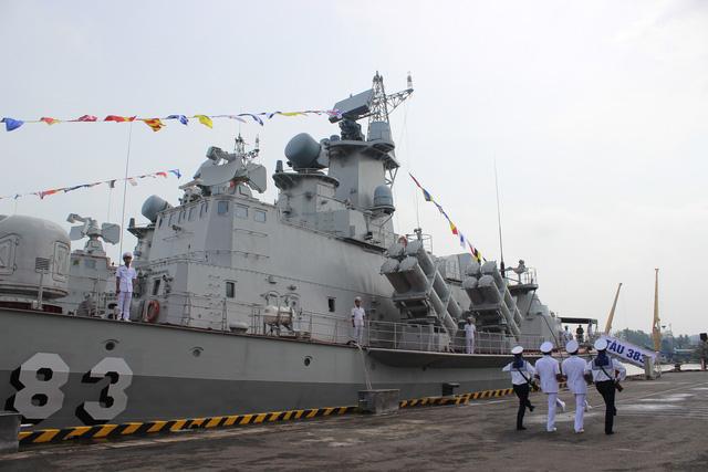 Thượng cờ 2 tàu tên lửa tấn công nhanh do Việt Nam đóng - Ảnh 9.