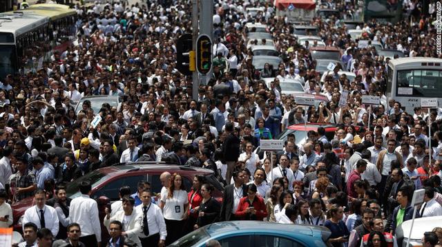 Động đất lớn ở Mexico, hơn 110 người chết - Ảnh 3.
