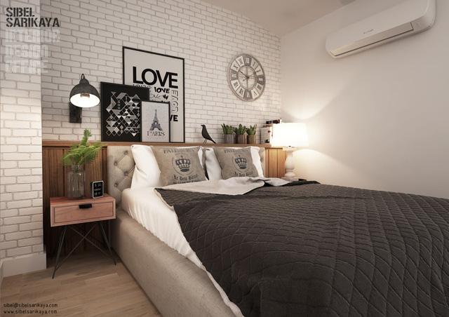 Phòng ngủ nhỏ nhưng vẫn đẹp ngất ngây nhờ khéo bố trí - Ảnh 4.