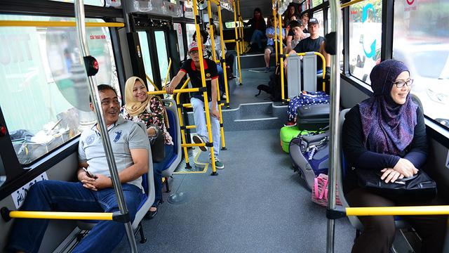 """Nhân rộng mô hình xe buýt """"5 sao"""" - Ảnh 1."""