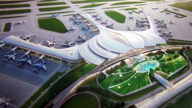 Trao 3 đồng giải nhất thiết kế nhà ga sân bay Long Thành - Ảnh 3.