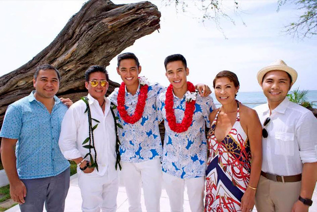 Hồ Vĩnh Khoa kết hôn với nam vương Thái Lan 2011 - Ảnh 2.