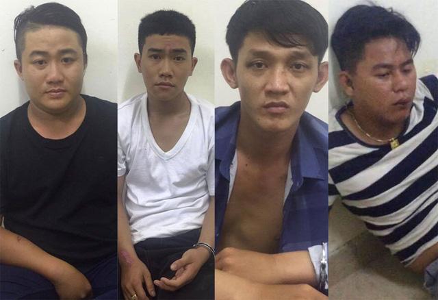 Bắt nhóm cướp 30 vụ trong 2 tháng - Ảnh 1.