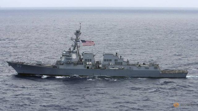 Tàu khu trục Mỹ lại tuần tra ở Biển Đông - Ảnh 1.