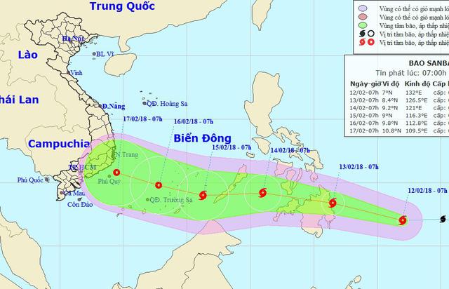 TP.HCM lên phương án chống bão Sanba - Ảnh 1.