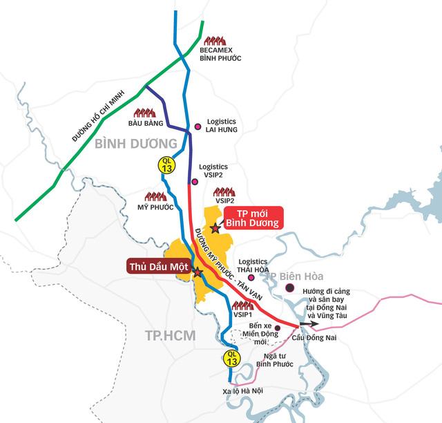Tăng tốc liên kết vùng với thành phố mới Thủ Dầu Một - Ảnh 5.
