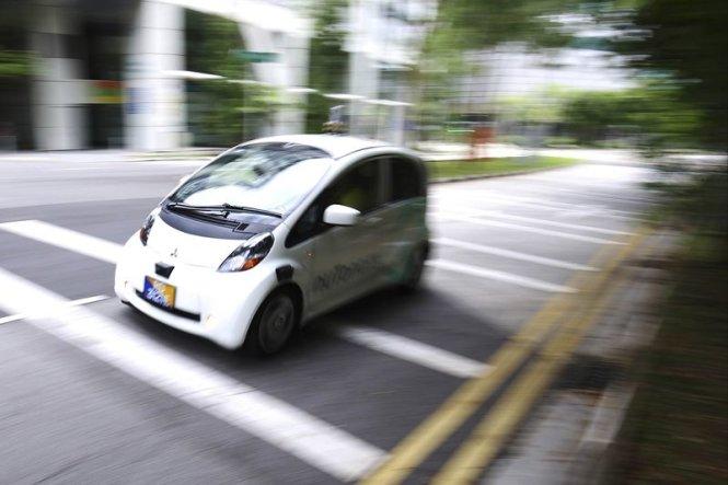 Triển khai dịch vụ taxi tự lái đầu tiên trên thế giới tại Singapore
