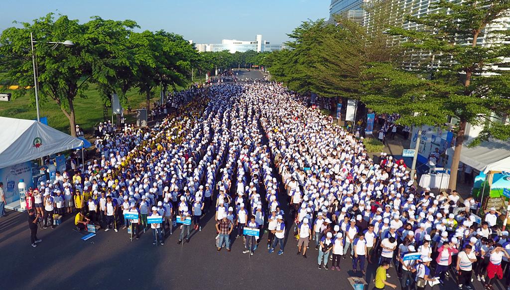Sơ kết chiến dịch 10.000 bước chân - Thay đổi cuộc sống - Ảnh 1.