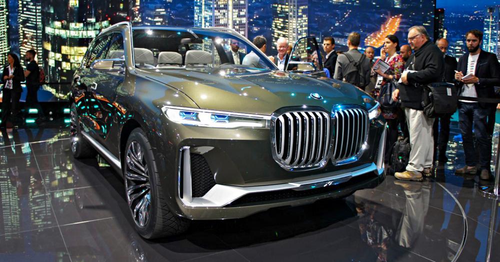 Ngắm BMW X7 iPerformance tại triển lãm Frankfurt: rộng rãi và tinh tế - Ảnh 1.