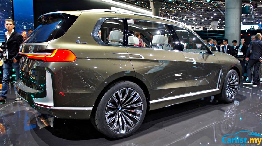 Ngắm BMW X7 iPerformance tại triển lãm Frankfurt: rộng rãi và tinh tế - Ảnh 2.