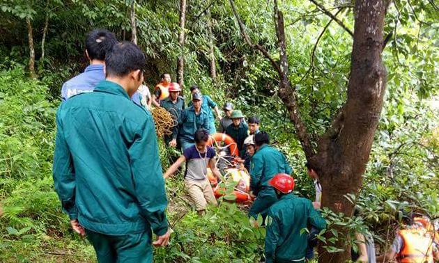 Thêm một người đàn ông ở Nghệ An bị lũ cuốn - Ảnh 1.
