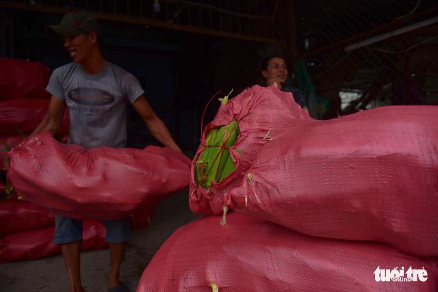 Tấp nập kẻ mua người bán tại chợ bắp lớn nhất Sài Gòn - Ảnh 12.