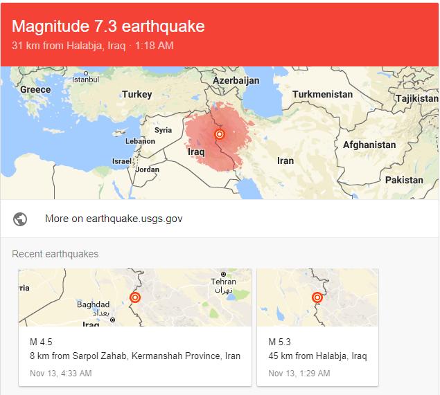 Động đất mạnh ở biên giới Iraq - Iran, ít nhất 60 người chết - Ảnh 2.