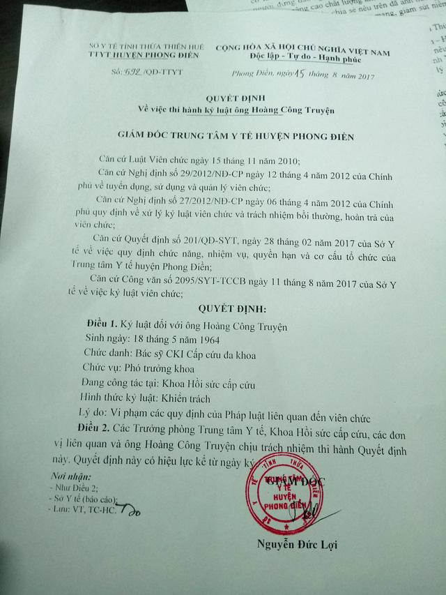 Bộ Y tế lên tiếng vụ bác sĩ nói xấu Bộ trưởng bị phạt tiền - Ảnh 1.
