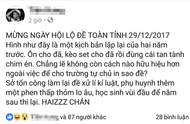 Khánh Hòa tạm đình chỉ kiểm tra học kỳ lớp 12 - Ảnh 1.