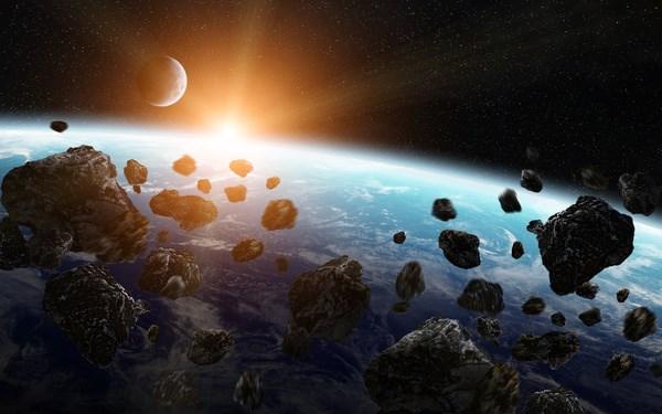 Sự sống trên trái đất có thể bắt đầu từ những thiên thạch - Ảnh 1.