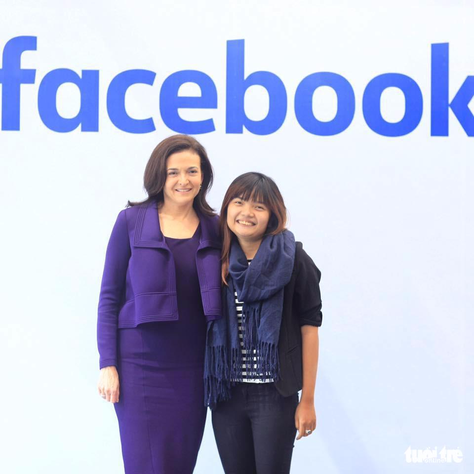 Cô gái Việt truyền lửa cho nữ tướng của Facebook - Ảnh 1.