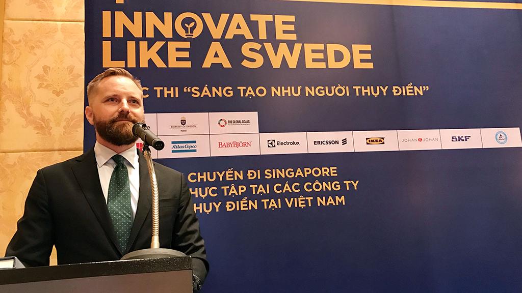 Các bạn trẻ, hãy thử sáng tạo như người Thụy Điển - Ảnh 1.