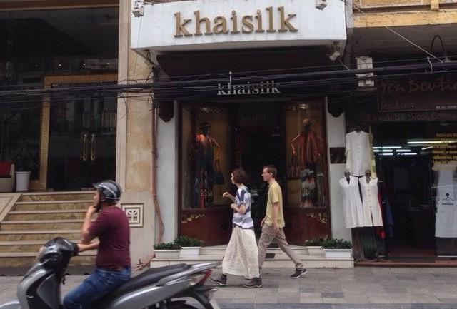 Khaisilk thừa nhận có 50% lụa từ Trung Quốc - Ảnh 1.