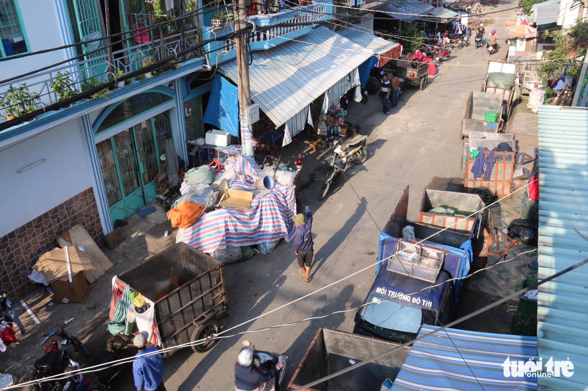 Hồ sơ Đời... rác - Kỳ cuối: Ký ức đất Sở Thùng ở Sài Gòn - Ảnh 3.